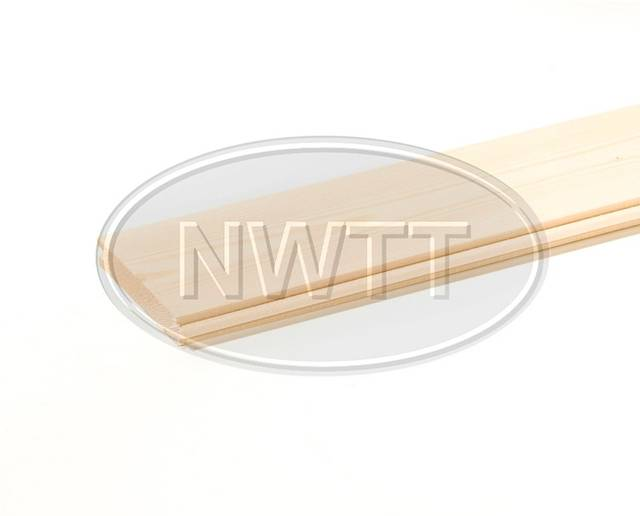 EX 125mm X 22mm PTG Floor Board Whitewood