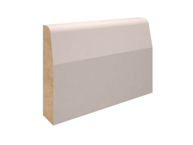 EX 75mm X 25mm MDF Chamfered Architrave