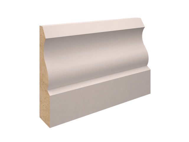 EX 75mm X 25mm MDF Ogee Architrave