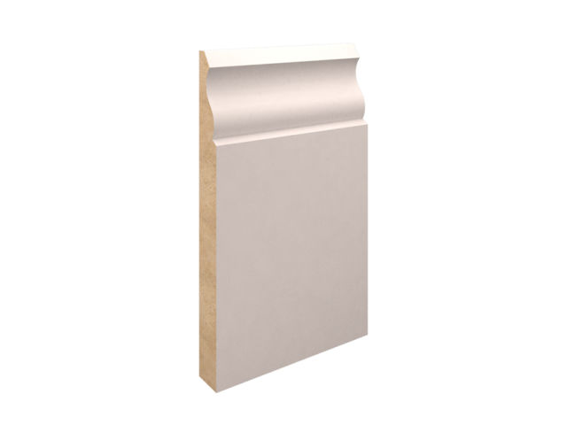EX 175mm X 25mm MDF Ogee Skirting