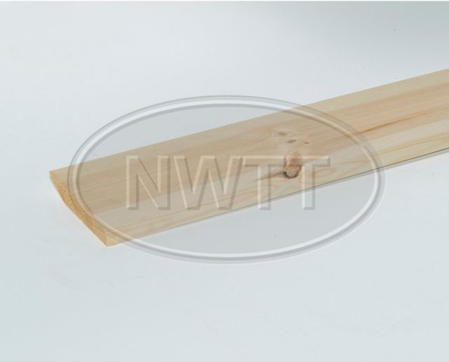 EX 100mm X 19mm Pencil Round 1 Edge Skirting