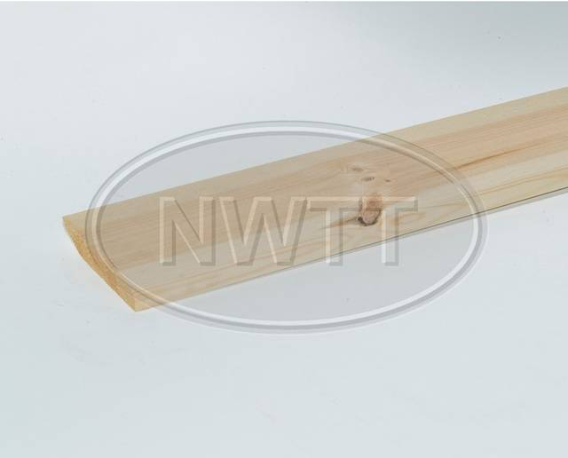 EX 125mm X 19mm Pencil Round 1 Edge Skirting