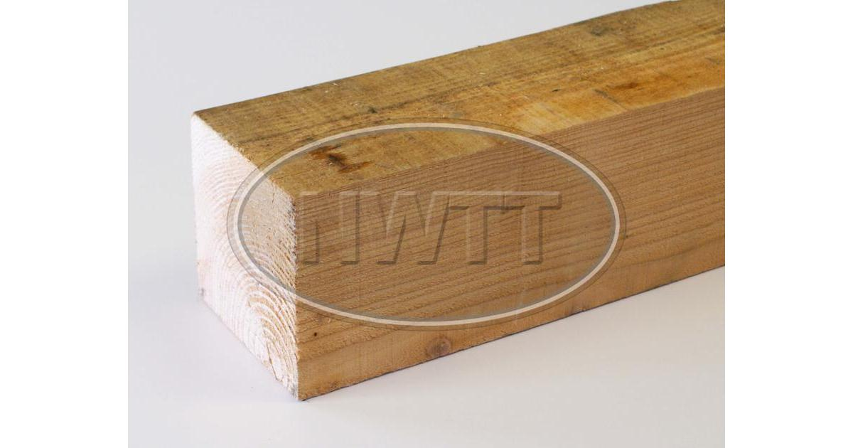 125mm X 125mm Rough Sawn Softwood L Nwtt