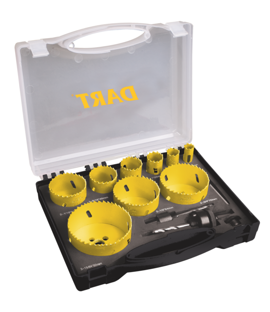 13pc Premium Holesaw Kit