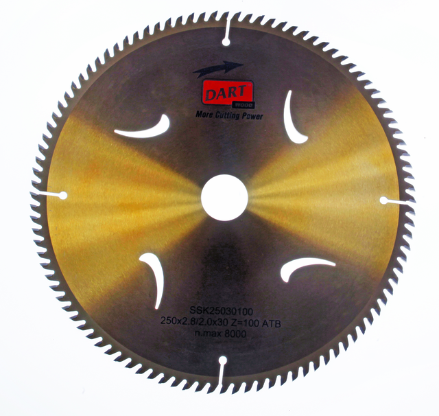 Gold ATB Wood Saw Blade