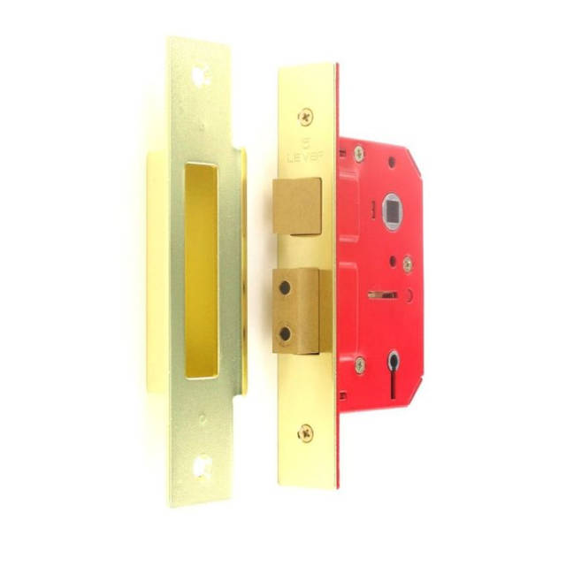 5 Lever Sash Lock 63mm