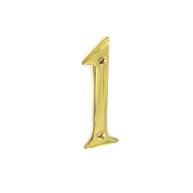 Numeral - Polished Brass