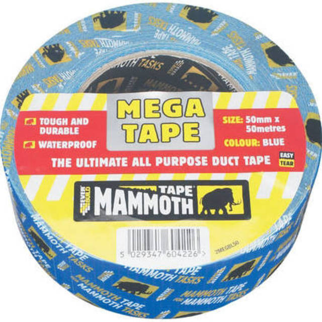 Mammoth Tape Silver